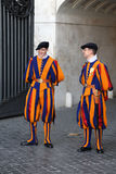Vatican - Swiss Guard Stock Images