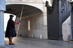 Vatican Swiss guard Stock Images