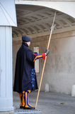 Vatican Swiss guard Stock Photography