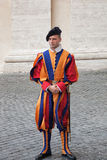 Vatican - Swiss Guard Royalty Free Stock Images