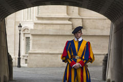 Vatican Swiss Guard Stock Image