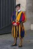 Vatican Swiss Guard Stock Image