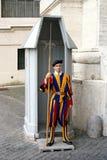 Vatican Swiss Guard Royalty Free Stock Photo
