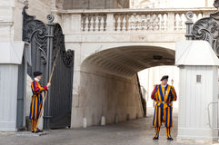 Vatican Swiss Guards Stock Images