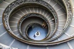 Vatican trappuppgång Arkivfoto