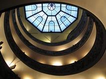 Vatican-Treppen Stockfotografie