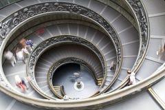 Vatican-Treppenhaus Lizenzfreie Stockbilder