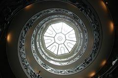 Vatican-Treppenhaus Lizenzfreie Stockfotografie