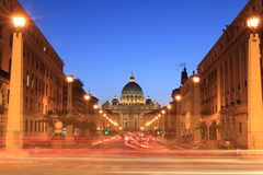 Vatican at twilight Royalty Free Stock Images