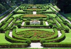 Vatican. Un jardin de Vatican. Paysage urbain dans un jour ensoleillé images stock