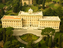 vatican villa Royaltyfria Foton