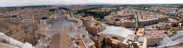 Vaticanen Arkivfoton
