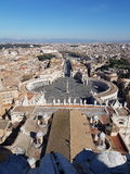 Vaticanen av Rome Royaltyfri Fotografi