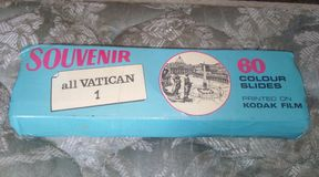 Vaticanen glider souvenir arkivfoton