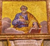 Vaticanen Rome Italien för basilika för helgonPeter Mosaic Saint Peter ` s Arkivbild