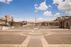 Vaticanenfyrkant Arkivbilder