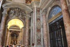 Vaticanenmuseer och Sistine kapell royaltyfri bild