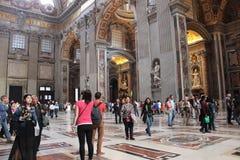 Vaticanenmuseer och Sistine kapell arkivfoton