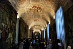 Vaticanenmuseumtak arkivfoto