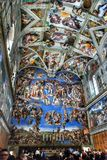 Vaticanenmuseumtak royaltyfri bild