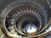 Vaticanenmuseumtrappa Royaltyfri Fotografi
