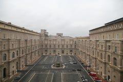 Vaticani de Buildind Musei Imagen de archivo libre de regalías