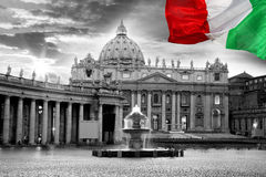 Vaticanin night,  Rome, Italy Royalty Free Stock Photos