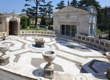 VATICANO 20 DE SEPTIEMBRE: casino Pío IV de la logia en los jardines del Vaticano el 20 de septiembre de 2010 en el Vaticano, Rom Fotografía de archivo