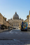 Vaticano home the pope via della conciliazione Stock Photography