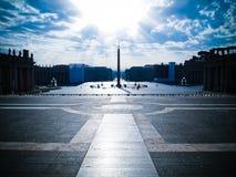 vaticano pietro san квадратное Стоковые Изображения RF