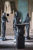 VATICANO, ROMA, ITALIA - 17 DE NOVIEMBRE DE 2017: Estatuas egipcias en los interiores del museo del Vaticano foto de archivo libre de regalías