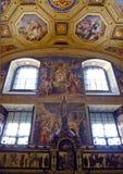 Vaticano, sala da concepção imaculada Foto de Stock