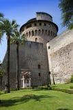 VATICANO 20 SETTEMBRE: La torre di Ioann del san ai giardini del Vaticano il 20 settembre 2010 nel Vaticano, Roma, Italia Immagini Stock Libere da Diritti