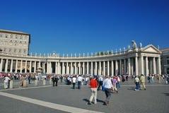 Vaticano - St Peters Basilica - Roma - Itália imagem de stock