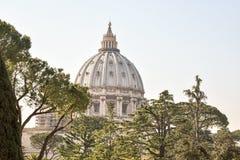 The Vaticano. Vaticano view Italy stock photo