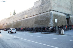 Vaticans博物馆词条 库存图片