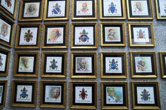 Vaticans邮票 库存图片