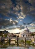 Vatikaan in de ochtend Royalty-vrije Stock Afbeelding