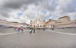 Vatikaan, Heilige Peter Royalty-vrije Stock Foto's