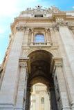 Vatikaan in openlucht stock foto