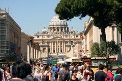 Vatikaan Rome Italië Royalty-vrije Stock Afbeeldingen