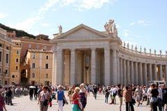 Vatikaan Rome Italië Stock Afbeeldingen
