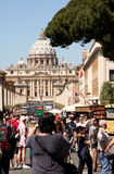 Vatikaan Rome Italië Stock Foto