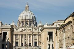 Vatikaan, St Peter van Rome, Italië 1 Stock Afbeelding