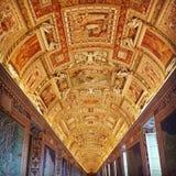 Vatikan-Korridore lizenzfreie stockbilder