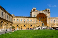 Vatikan-Museum, Rom, Italien Lizenzfreie Stockbilder