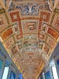 Vatikan-Museums-Decke Stockbild
