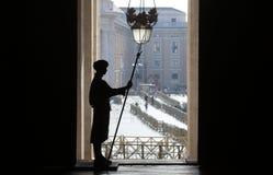 Vatikan-Schutz der Ehre lizenzfreies stockbild