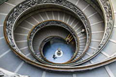 Vatikan-Treppenhaus Stockfoto
