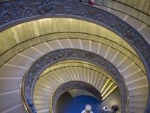 Vatikan-Treppenhaus Lizenzfreie Stockfotos